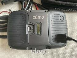 GARMIN zmo 595LM 5 Motorcycle Navigator GPS with Lifetime Map Updates- Great