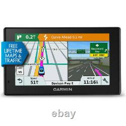 Garmin DriveSmart 51 Navigator with Built-In WiFi plus Lifetime Maps and Traffic