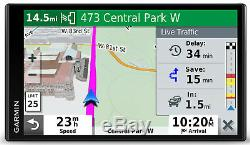 Garmin DriveSmart 65LMT 6.95 Auto GPS With Lifetime NA Mapping 010-02038-02