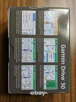Garmin Drive 50 5-Inch GPS Navigation System with Lifetime Canada and USA Maps
