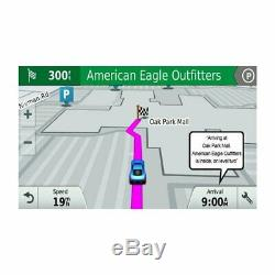Garmin Drive 60LM 6 Advanced GPS 010-01533-0C with Lifetime Map Updates, NEW