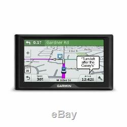 Garmin Drive 61 LMT-S 6 GPS With Lifetime Maps of United States 010-01679-0C