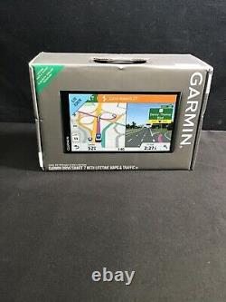 Garmin Drivesmart 7 with Lifetime Maps and Traffic EX 010-01681-05 SEALED