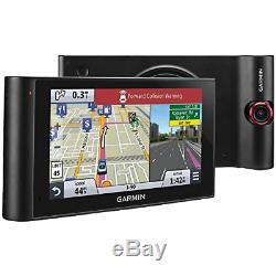 Garmin NuviCam LMTHD 6 GPS with built-in Dash Cam, Lifetime Map & Traffic Updates