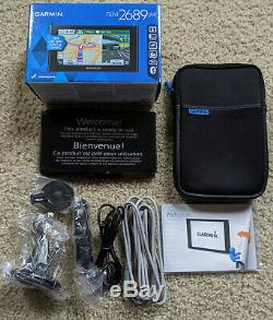 Garmin Nuvi 2689LMT 6 GPS with FREE Lifetime Maps Newly Updated 2019 Maps