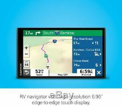 Garmin RV 780 GPS Navigator with Lifetime Maps and Traffic, Open-Box