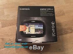 Garmin Zumo 340LM Motorcycle Sat Nav with Updateable Lifetime UK and European Maps