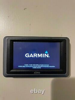 Garmin Zumo 660LM Lifetime Maps Motorcycle GPS Car power mount