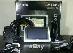 Garmin Zumo 660LM motorcycle or vehicle GPS with Lifetime Maps in Box