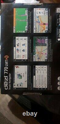 Garmin dezl 770LMT 7 GPS for Truck with Bluetooh and Free Lifetime Map and HD