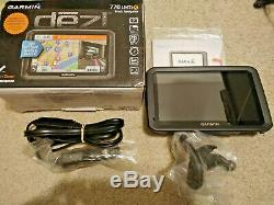Garmin dezl 770LMT HD 7 Trucking GPS with Free Lifetime Map Updates and Traffic