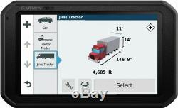 Garmin dzl 780LMT-S 7 Trucking GPS with Bluetooth and Lifetime Map & Traffic