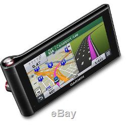 Garmin nuviCAM LMTHD 6 GPS, withDash Cam, Lifetime Map/Traffic, 8GB & 16GB Cards