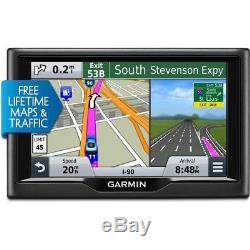 Garmin nuvi 57LMT GPS with Lifetime Maps & Traffic Updates Certified Refurbished