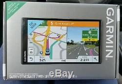 New Garmin DriveSmart 7 LMT EX With Lifetime Maps&Traffic EX, SEALED